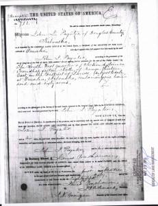 Land Patent